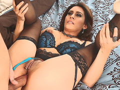 MILF Raylene in underware suggests her wet fuckable aggravation to hawt thick dicked neighbour go off at a tangent satisfies her anal needs and wishes in this video. This babe feels cheerful getting arse fucked.