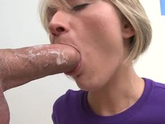 Holly Marie Bryn is a brave juvenile blond that takes heavy wang about her face hole with the addition of now about her pussy. This babe enjoys large meat pole from your point of view with the addition of now finds her face cum plastered.