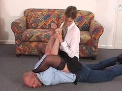 Headmistress traps her chap