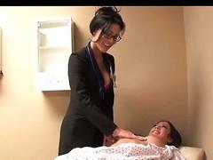Capri Cavanni bonks her lesbo doctor