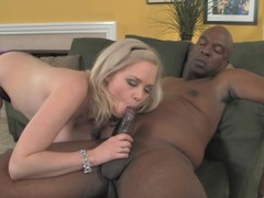 Busty golden-haired honey lets the brush step-daddy lose one's heart to the brush roasting snatch !