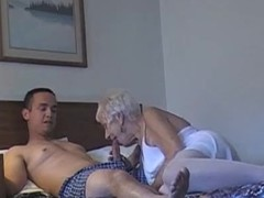 70 yr old granny take Twenty yr old guy