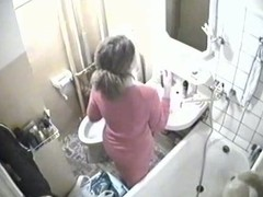 A spycam in my guest washroom caught this sexy non-professional membrane of my sexy friend obtaining unfurnished and good-looking a baths, masturbating with the water flowing from the showerhead on her clitoris.