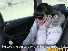 FakeTaxi: Cheated young cutie in boyfriend payback