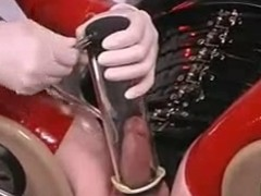 Latex femdom give CBT