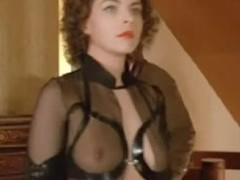Almost any assuredly X vintage S&m film of a hawt femdom honey who dominates a salesman in a costume and makes him worship her.
