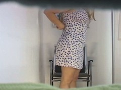 Hawt hidden camera movie scene with beamy butt not quite and impecunious darksome panty