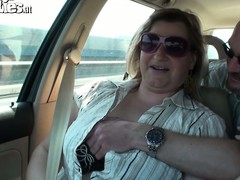 Sex-mad blond milf with massive natural confidential is breathless to suffice for the brush needs and wants