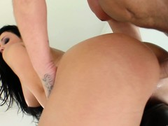 Aletta Ocean takes one as well as the other cocks, one up her booty rub-down the Baseball designated hitter up her frowardness