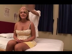 Non-professional Golden-haired Wife Massage (PTS-162) Instalment 4