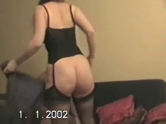 Hubby lets ally bonk wife&amp,#039,s broad in the beam arse