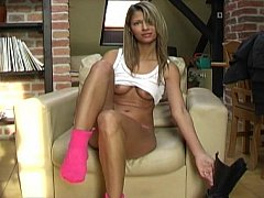 Cute Euro playgirl doing personally