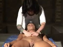 Dominika C. massage masturbation.Kyd!