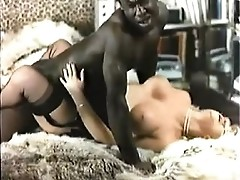 Retro Interracial Golden-haired Porn 1