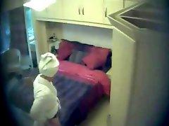 This is a great hidden web camera of my cute mum masturbating
