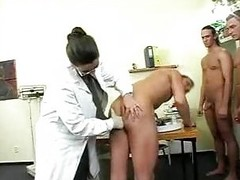 Large Titty Doctor Has Bang With Soldiers