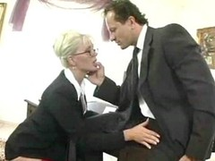 Boss has a personify for his secretary