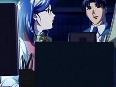 Anime coarse petting handy the rencounter
