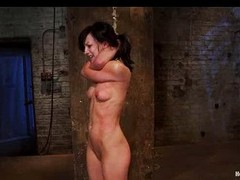 Ignorance in choke out of doors tie whipped