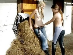 WHAT Nubiles DO AT THE STABLE