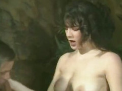 All loveable classic porn stars in old sex clip