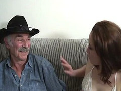 Dilettante sex video with a old stud and a juvenile slut.
