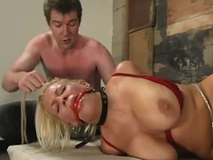 Golden-haired Xana Celebrity receives her large particular tortured in a basement