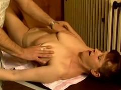 Adult whore Stephanie seduces a masseur and copulates him