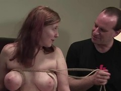 Unattractive beauty is rough tested for pounding readily accessible rub-down the casting