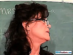 Older Corpulent Teacher