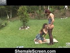 Paola&Patricia gutsy ladyman on clip
