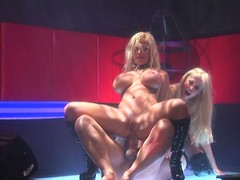 2 hot strippers engulf and excursion the same hard ramrod