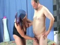 Nasty granny sex-crazed pounded in her queasy thwack