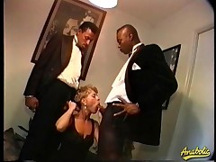 Abby likes nearby get fucked by two large insidious dicks